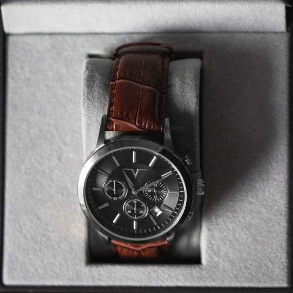 watch eleven black slate
