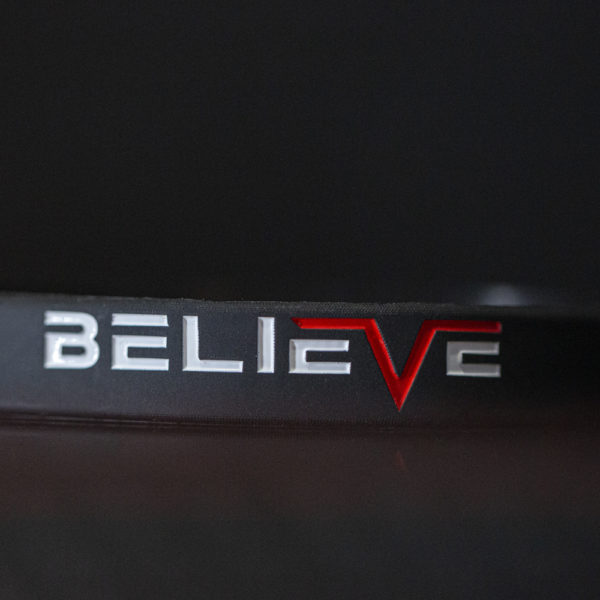 believe reminder band black