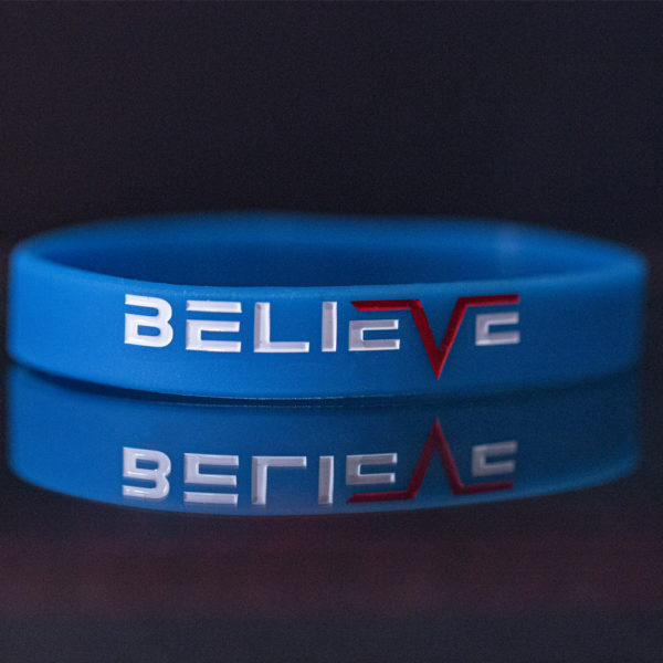 believe reminder band blue