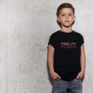 kids feel my power tee