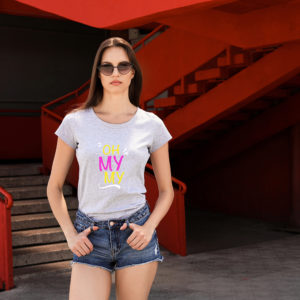oh my my womens tee